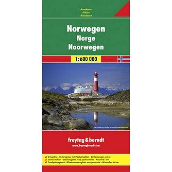 Automapa Norsko 1:600 000 (9783707904635)