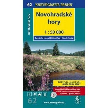 Novohradské hory 1:50 000: K62 (978-80-7393-120-9)