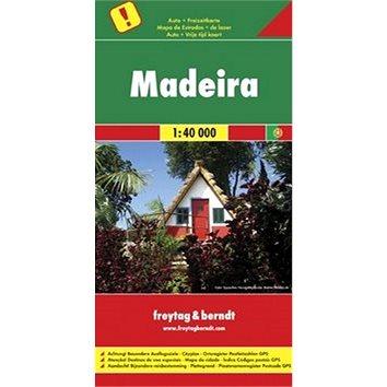 Automapa Madeira 1:40 000 (9783707904666)