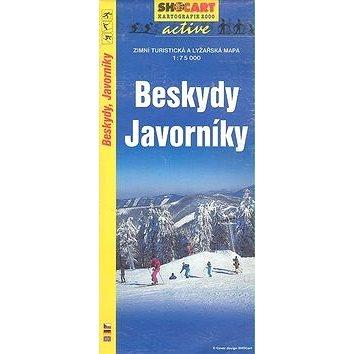 Beskydy Javorníky 1:75 000: Zimní turistická a lyžařská m. (80-85781-88-3)