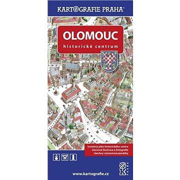 Olomouc Historické centrum: Kreslený plán (978-80-7393-303-6)