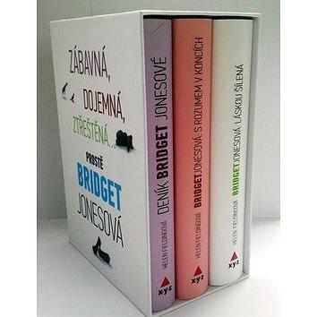 Bridget Jonesová BOX 1-3: Deník Bridget Jonesové, S rozumem v koncích, Láskou šílená (978-80-7505-020-5)