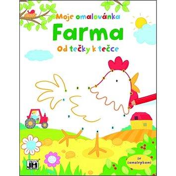JIRI MODELS Farma Od tečky k tečce: Moje omalovánka (8595593804514)