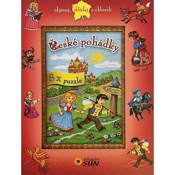 České pohádky 8x puzzle: objevuj, skládej a obkresli (978-80-7371-699-8)