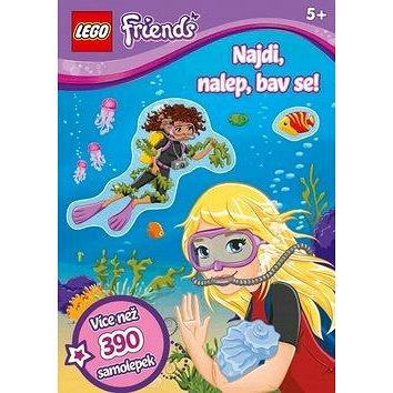 LEGO Friends Najdi, nalep, bav se! (978-80-251-4335-3)