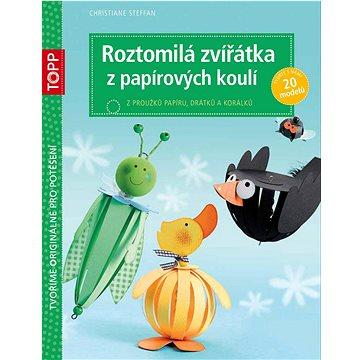 TOPP Roztomilá zvířátka z papírových koulí: z proužků papíru, drátků a korálků (978-80-88036-21-0)