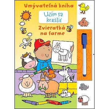 Učím sa kresliť - Zvieratká na farme: Umývateľná kniha (978-80-8107-853-8)