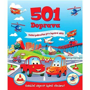 501 Doprava: Velká pátračka pro bystré děti (978-80-7391-229-1)
