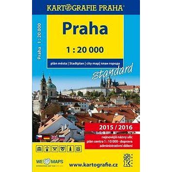Praha plán města 1:20 000 (978-80-7393-367-8)