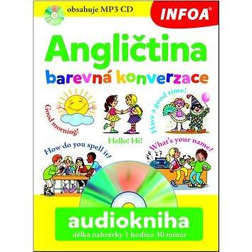 Angličtina barevná konverzace Audiokniha délka nahrávky 2 hodiny (978-80-7240-957-0)