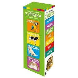 Moje knihovnička 2. Zvířátka: 8 minileporel (978-80-242-4817-2)