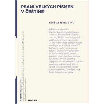 Psaní velkých písmen v češtině (978-80-200-2513-5)