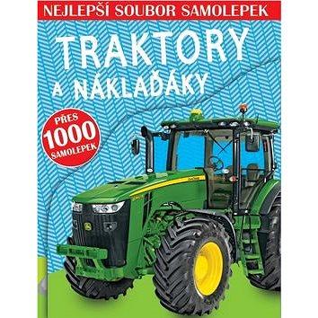 Traktory a náklaďáky: Nejlepší soubor samolepek (978-80-256-1654-3)