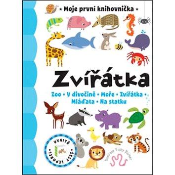 Zvířátka Moje první knihovnička: Zoo, V divočině, Moře, Zvířátka, Mláďata, Na statku (978-80-256-1595-9)