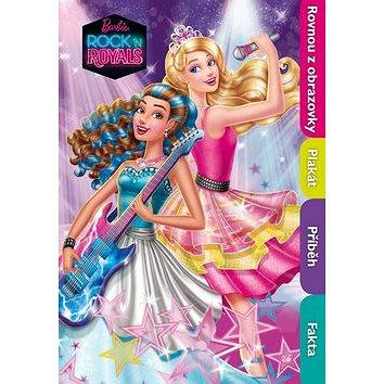Barbie in Rock n´Royals filmový příběh s plakátem: plakát (978-80-252-3507-2)