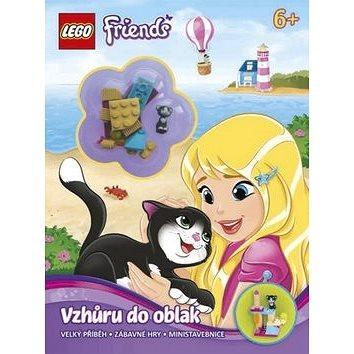 LEGO Friends Vzhůru do oblak: Velký příběh, zábavné hry, ministavebnice (978-80-251-4403-9)