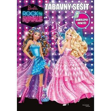 Barbie in Rock n´Royals Zábavný sešit (8594063858118)