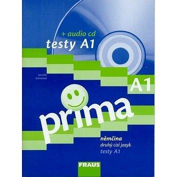Prima A1/díl 1 testy + audio cd: Němčina druhý cizý jazyk (978-80-7238-764-9)