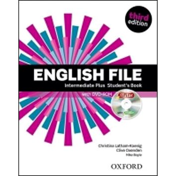 English File Third Edition Intermediate Plus Student´s Book with iTutor DVD-ROM (9780194558310)