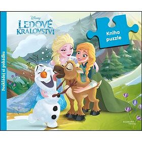 Ledové království Kniha puzzle: poskládej si pohádku (978-80-252-3446-4)