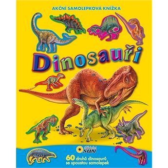 Dinosauři: Akční samolepková knížka (978-80-7371-787-2)