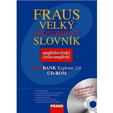 Komplet 2ks Velký ekonomický slovník anglicko-český česko-anglický + CD ROM (978-80-7238-728-1)