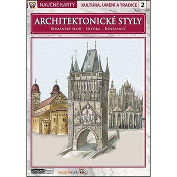 Naučné karty Architektonické styly: Románský sloh, gotika, renesance (978-80-7402-179-4)