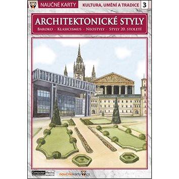 Naučné karty Architektonické styly: Baroko, klasicismus, neostyly, styly 20. století (978-80-7402-180-0)
