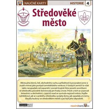 Naučné karty Středověké město (978-80-7402-185-5)