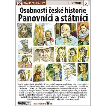 Naučné karty Osobnosti české historie Panovníci a státníci (978-80-7402-186-2)
