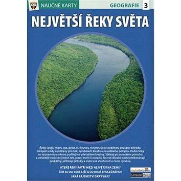 Naučné karty Největší řeky světa (978-80-7402-189-3)