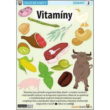 Naučné karty Vitamíny (978-80-7402-193-0)