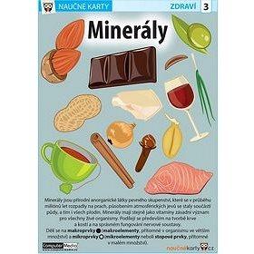 Naučné karty Minerály (978-80-7402-194-7)