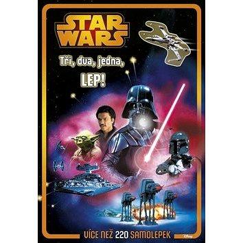 STAR WARS Tři, dva, jedna, LEP!: Více než 220 samolepek (978-80-264-0933-5)