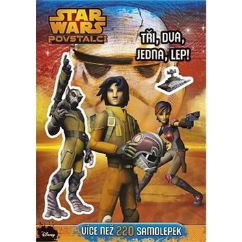STAR WARS Povstalci Tři, dva, jedna, lep!: Více než 220 samolepek (978-80-264-0937-3)