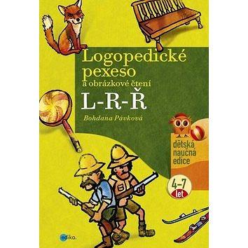 Logopedické pexeso L-R-Ř: a obrázkové čtení 4-7 let (978-80-266-0851-6)