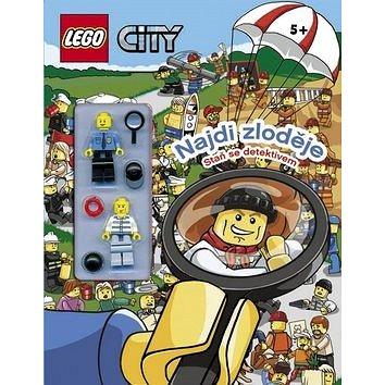LEGO CITY Najdi zloděje: Staň se detektivem (978-80-251-4590-6)