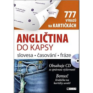 Angličtina do kapsy: slovesa, časování, fráze na kartičkách + CD (978-80-253-2634-3)
