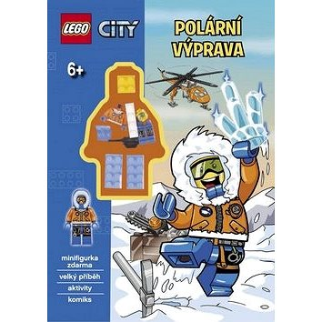 LEGO CITY Polární výprava: velký příběh, aktivity, komiks (978-80-251-4578-4)