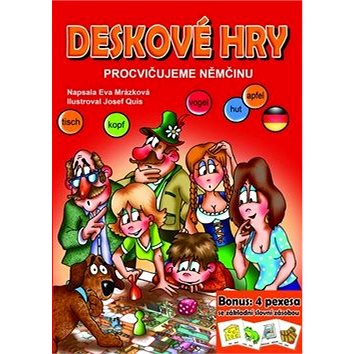 Deskové hry Procvičujeme němčinu: Bonus: 4 pexesa se základí slovní zásobou (978-80-266-0838-7)