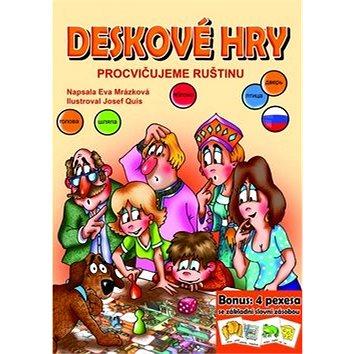 Deskové hry Procvičujeme ruštinu: Bonus: 4 pexesa se základí slovní zásobou (978-80-266-0839-4)