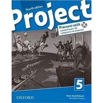 Project Fourth Edition 5 Pracovní sešit: S poslechovým CD a přípravou na testování (9780194764896)