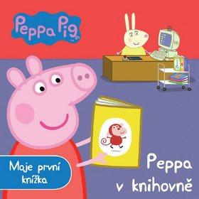 Peppa Pig Peppa v knihovně: Moje první knížka (978-80-252-3537-9)