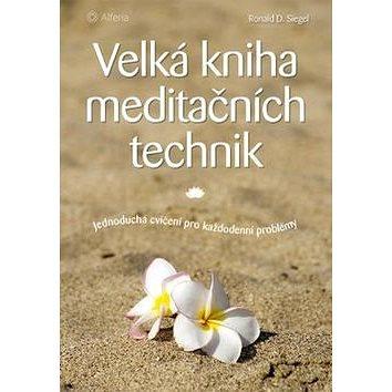 Velká kniha meditačních technik: Jednoduchá cvičení pro každodenní problémy (978-80-247-5569-4)