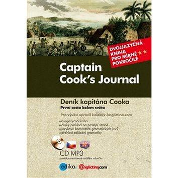 Captain Cook's Journal Deník kapitána Cooka: Dvojjazyčná kniha pro mírně pokročilé + CD mp3 (978-80-266-0880-6)