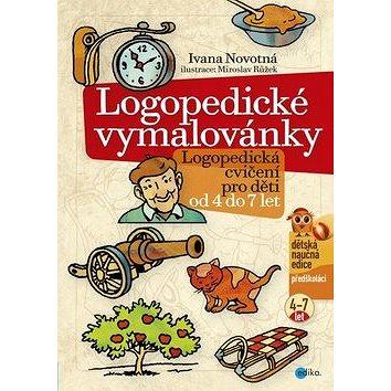 Logopedické vymalovánky: Logopedická cvičení pro děti od 4 do 7 let (978-80-266-0905-6)