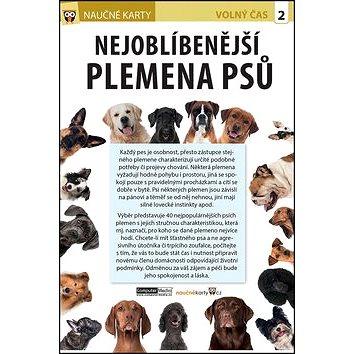 Naučné karty Nejoblíbenější plemena psů (978-80-7402-245-6)