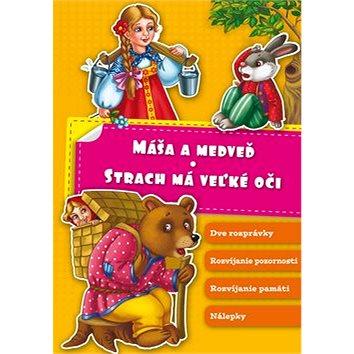 Máša a medveď Strach má veľké oči (978-80-8154-154-4)
