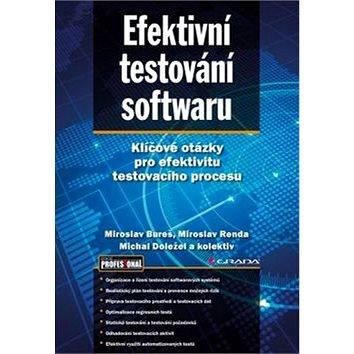 Efektivní testování softwaru: Klíčové otázky pro efektivitu testovacího procesu (978-80-247-5594-6)