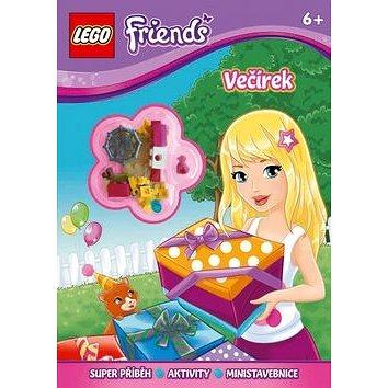 LEGO Friends Večírek: Superpříběh, aktivity, ministavebnice (978-80-251-4668-2)